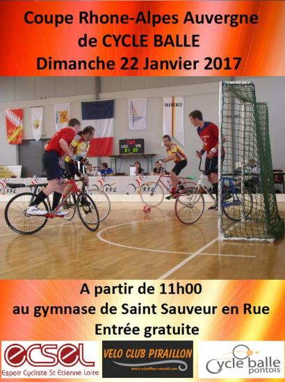 Affiche cycle balle